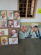 Pictures on the eve of Gandhijayanthi